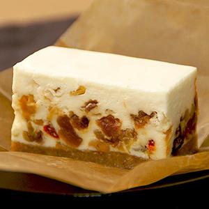 商品画像-コガネイチーズケーキ-ドライフルーツのレアチーズケーキ