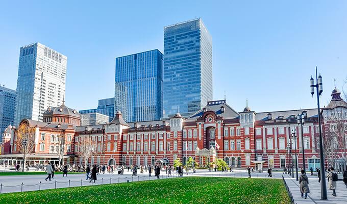 東京駅・改札外